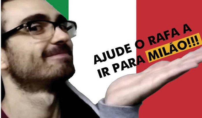 Rafael Letizio na Politécnica de Milão