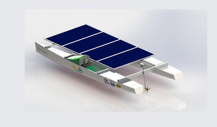 Apoio à construção da primeira embarcação solar do Pará!