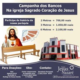 Cover campanha dos bancos sagrado redes sociais