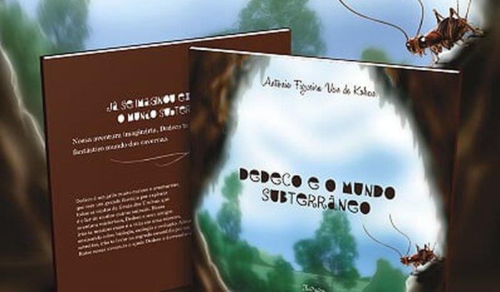 Livro Infantil Dedeco e o mundo subterrâneo