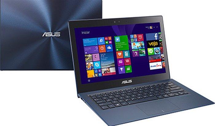 "Ultrabook Asus Zenbook UX301LA com Intel Core i7 8GB 512GB SSD LED 13,3"" Touch Windows 8 - Azul Escuro"
