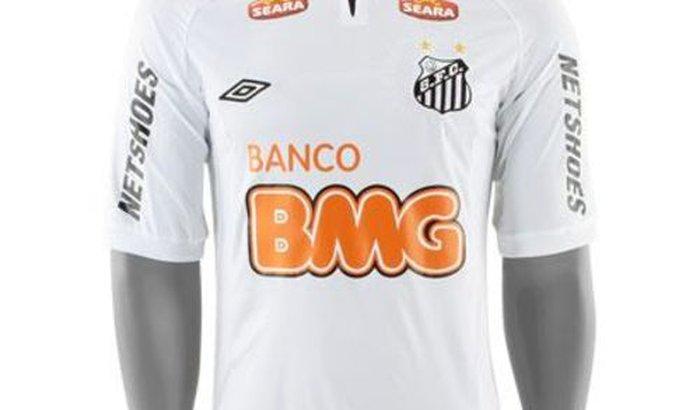 camisa oficial do Santos FC