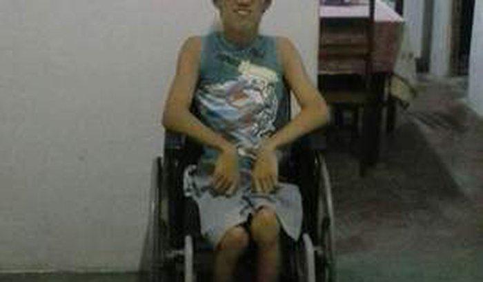 Ajude o Felipe a ter sua cadeira de rodas