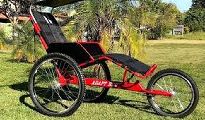 Triciclo Adaptado - Cadeira Adaptada para Corrida - Handcycle