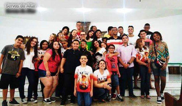Servos  do Altar na JMJ  Panamá