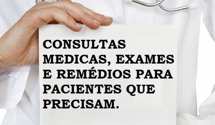 CONSULTAS MEDICAS, EXAMES E REMÉDIOS.