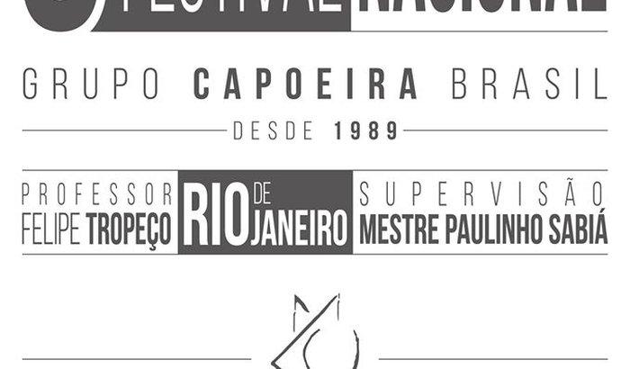 Festival Nacional de Capoeira - Professor Felipe Tropeço