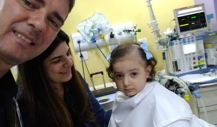 Ajuda para o tratamento da Giovanna