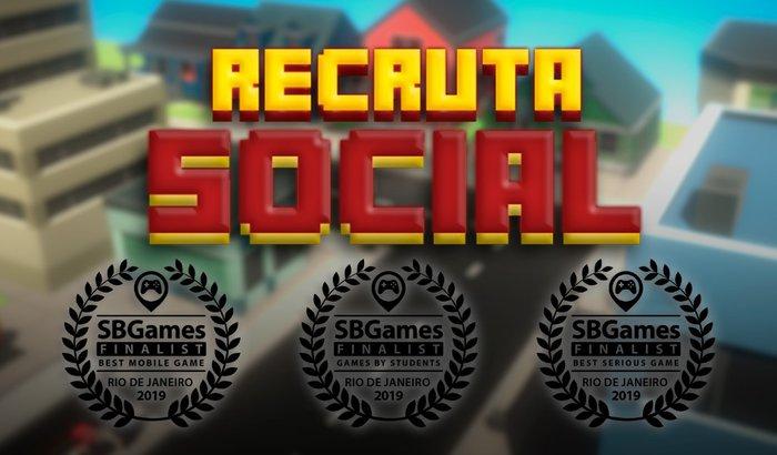 Recruta Social no SBGames