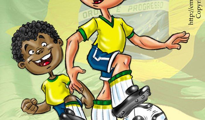 Futebol de criança
