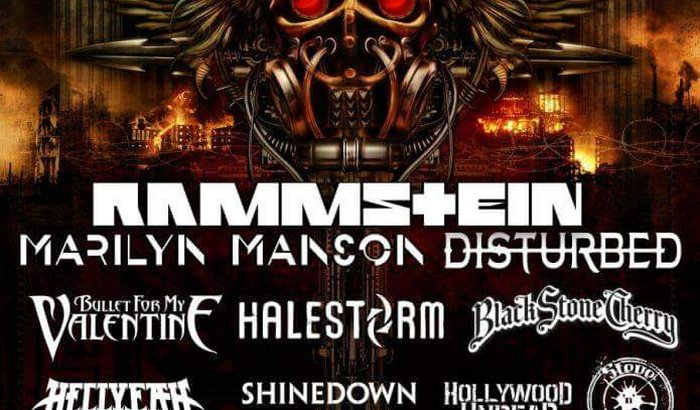 Show do Marilyn Manson! Meu sonho!