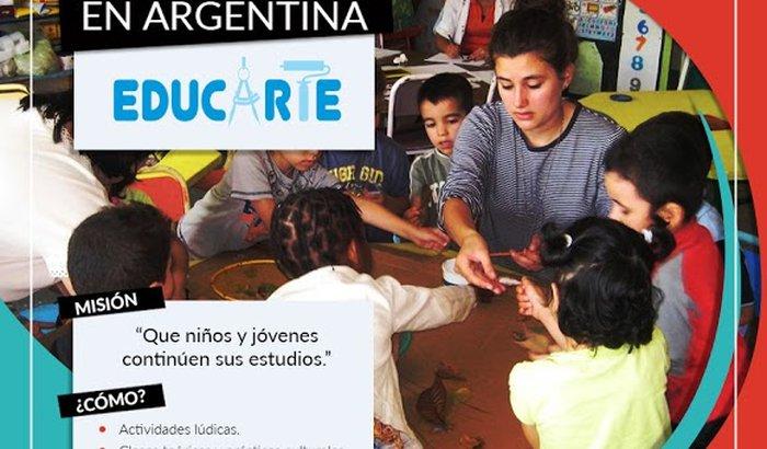 AJUDE A MUDAR A VIDA DE CRIANÇAS CARENTES NA ARGENTINA!