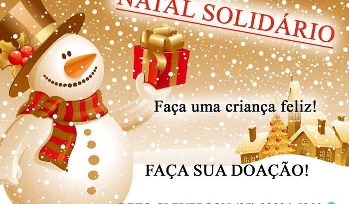 """Natal Solidário """"Faça uma Criança Feliz 2019""""."""