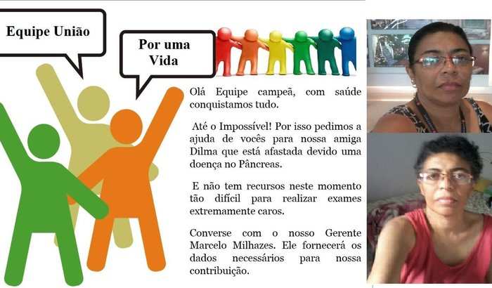 Ajuda para Dilma fazer seus exames! Ecoendoscopia