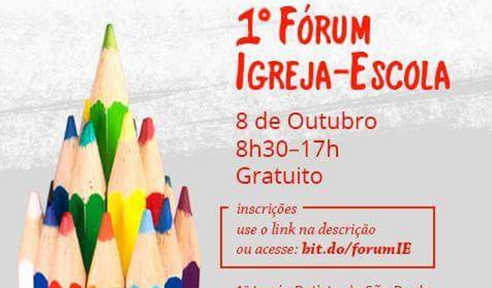 1°Forum EscolaxIgreja