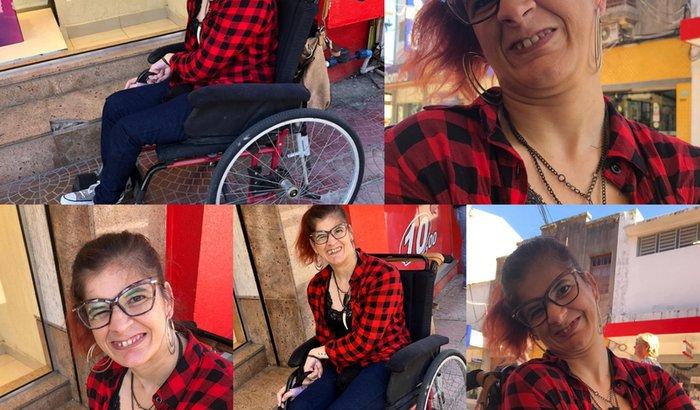 Ajuda para a Tina comprar cadeira de rodas motorizada