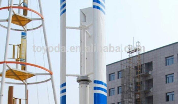 Projeto Eólico de baixo custo