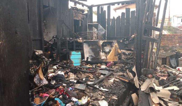 Ajude a família a recomeçar após incêndio