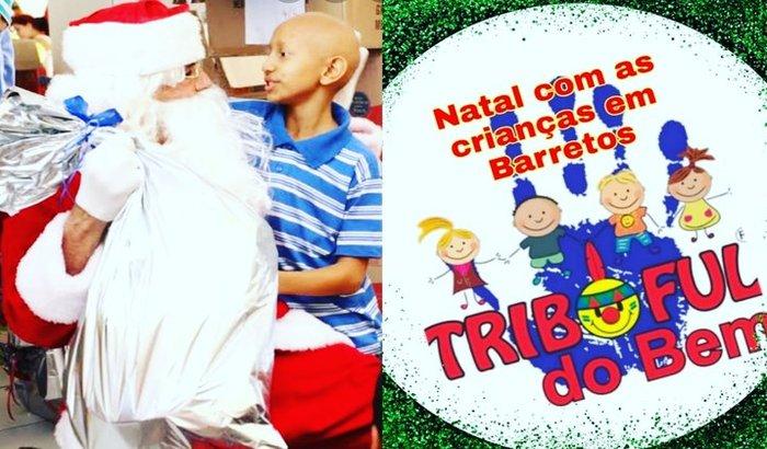 Nos ajude na Ceia de Natal para as crianças com câncer.