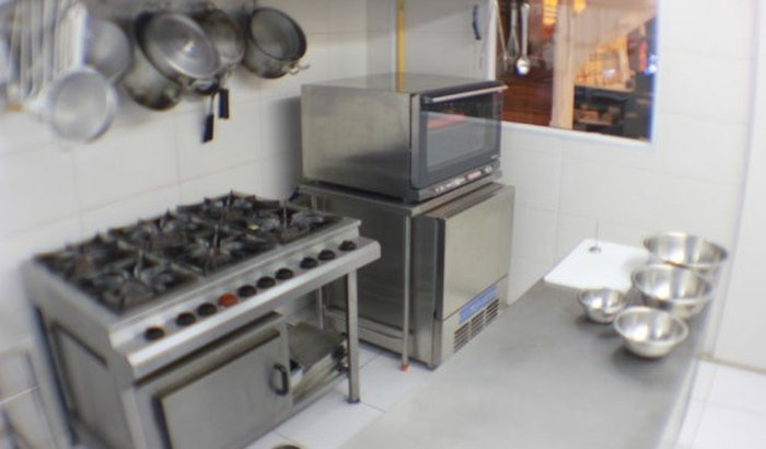 Sonho da cozinha industrial.
