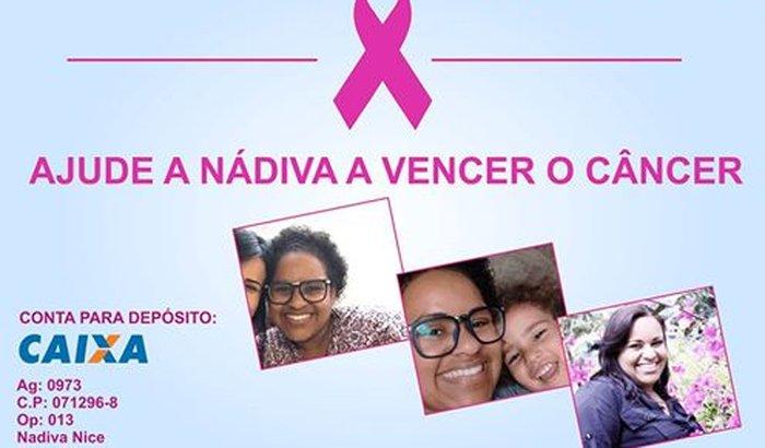 Ajude a Nádiva a Vencer o Câncer!