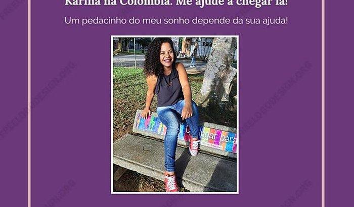 Karina na Colômbia