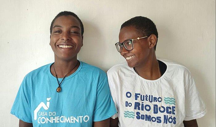 Duas meninas do Rio Doce. Um único sonho.