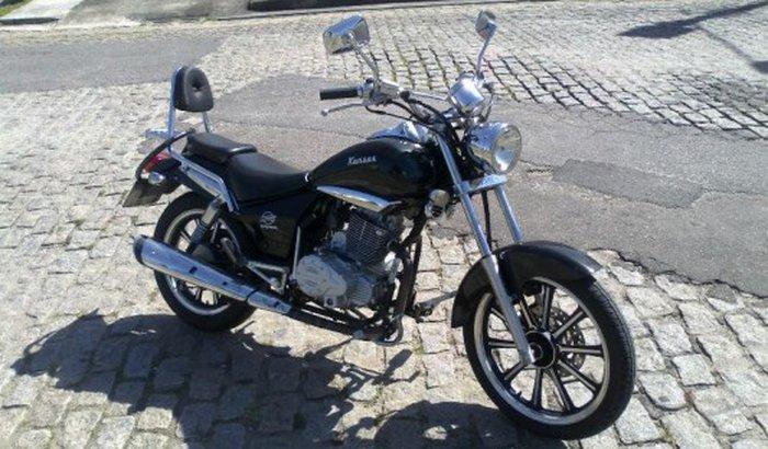 Roubaram minha moto