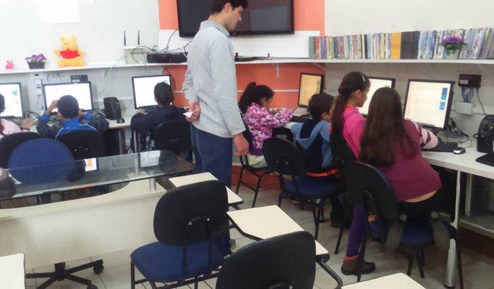 Reforma na Sala de Informática