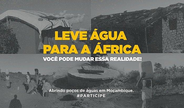 Projeto Poço Artesiano em Moçambique