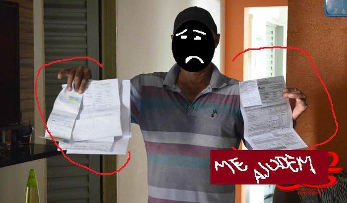 Ajudem uma desempregada a pagar as contas
