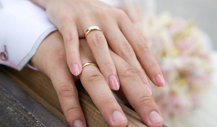 Aliança de 20 anos de casados