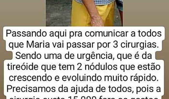 CIRURGIA de Maria / URGÊNCIA!