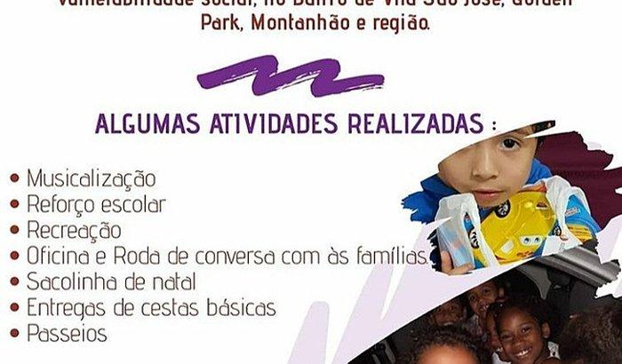 APADRINHAMENTO DE CRIANÇAS ONG MISSÃO CRIANÇÃO