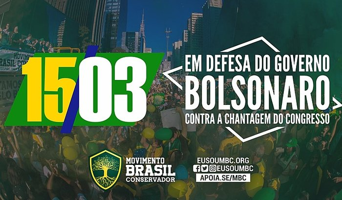 Manifestação 15 de Março pelo Brasil em todo o país