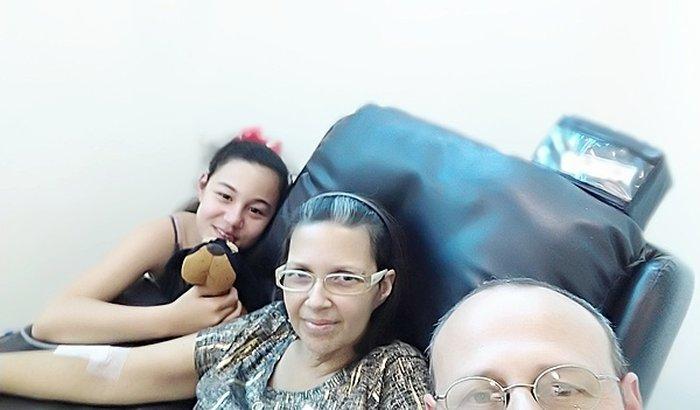Ajuda no custeio tratamento da Miriam