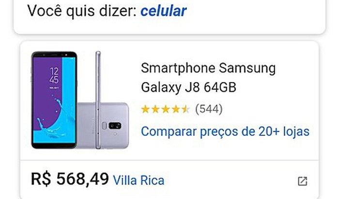 Quero comprar meu celular