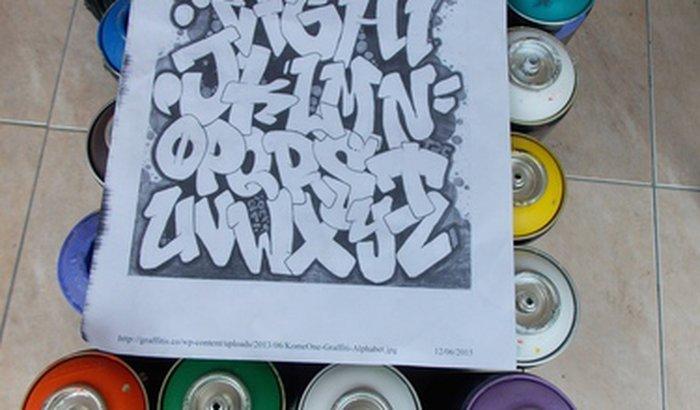 Colaboração para Oficinas de Graffiti com crianças e Adolescentes.