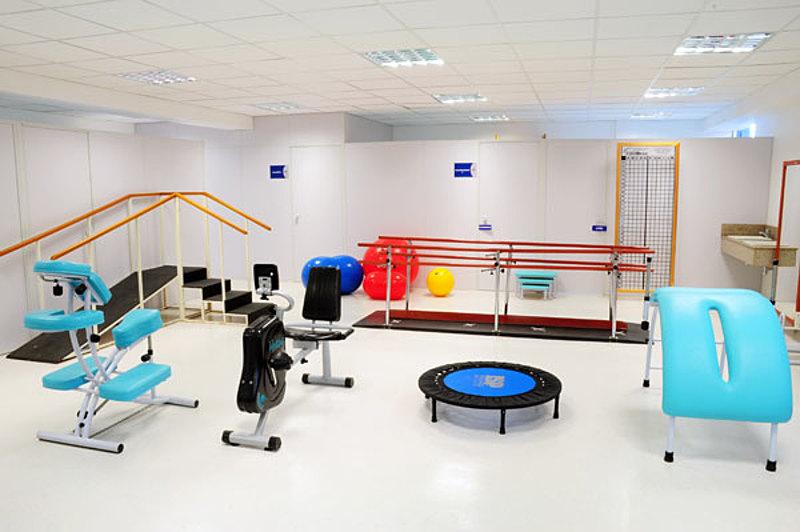 Ajuda para sala de fisioterapia