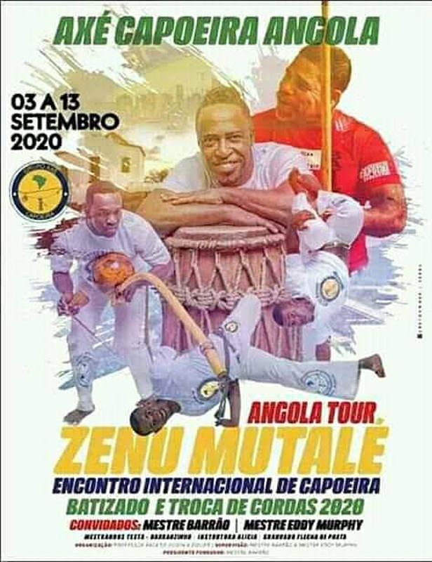 Ajude me a representar o Brasil em Angola