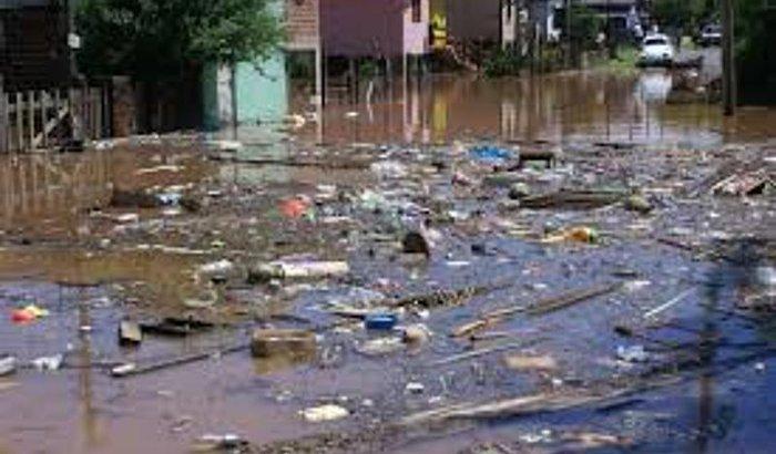 Foi a pior enchente da História/PerdiTudo
