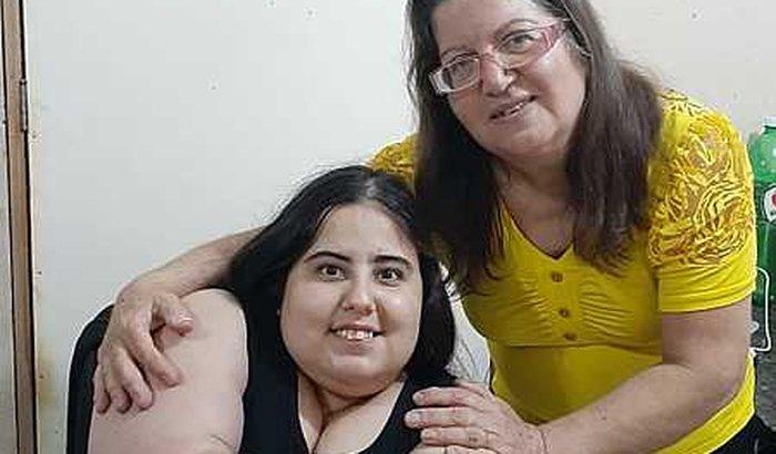 Cadeira de rodas reclinável para minha filha jéssica
