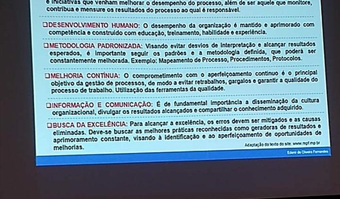 Curso técnico - gestão em processo