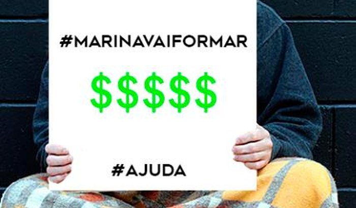 Marina vai (finalmente) formar!
