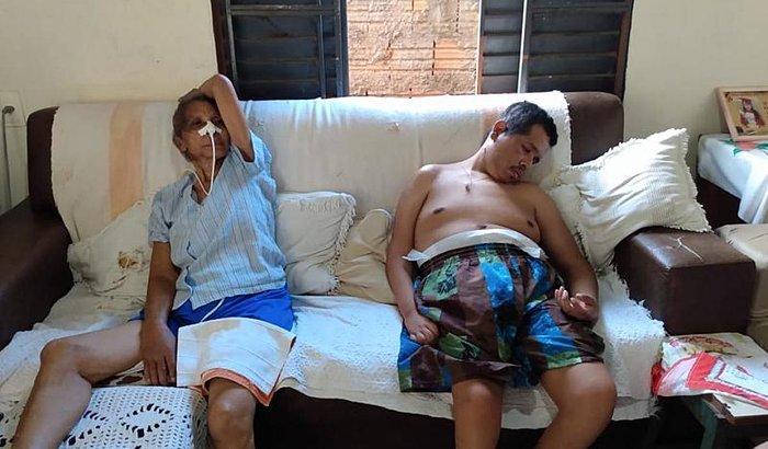 ajude Hosana silva com AVC e seu filho Douglas silva Par