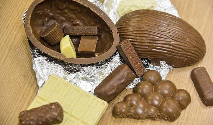 Comprar material pra fazer ovos de Páscoa