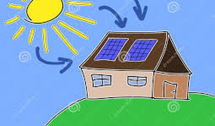 Criação de rede eletrica solar