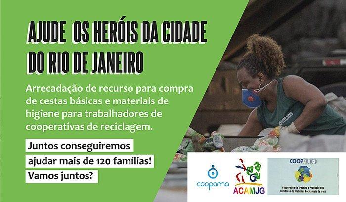 Ajude os heróis da cidade do Rio de Janeiro