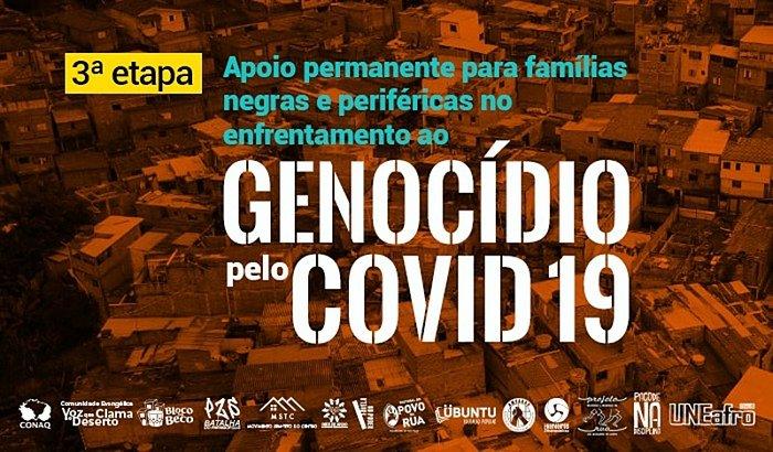 Apoio permanente  para famílias negras e periféricas - Covid19