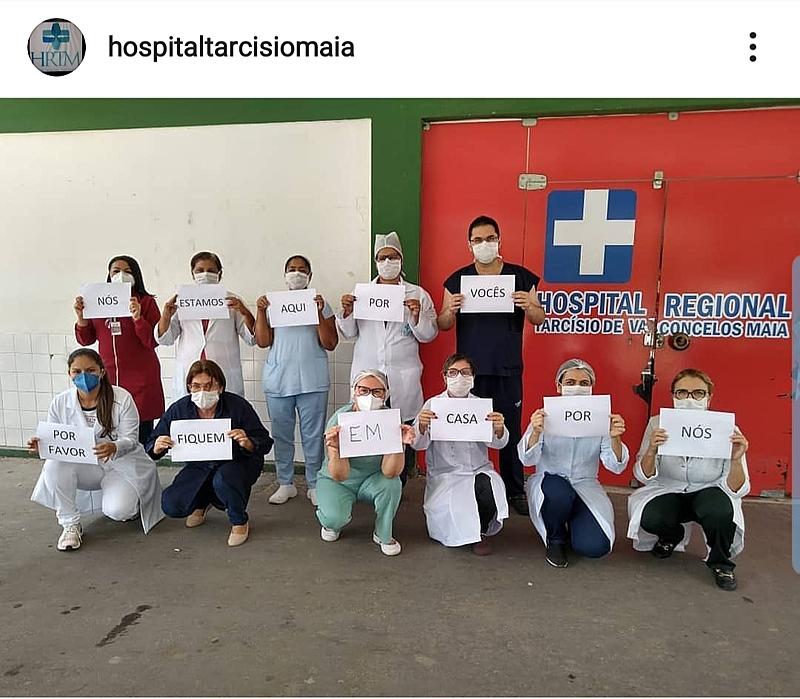 Ajude o  Hospital-HRTM/MOSSORÓ ENFRENTAR  O COVID-19